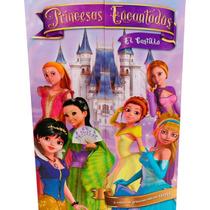 Libro Princesas Encantadas 6 Libros 1 Dvd