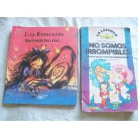 Lote De 2 Libros Infantiles De Elsa Bornemann .