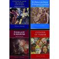 Lote X 4 Libros Wilde Quiroga Lovecraft Stevenson Nuevos