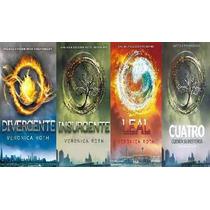 Saga Divergente Completa 4 Titulos *original* Super Oferta