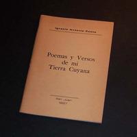 Poemas Y Versos De Mi Tierra Cuyana. Ignacio Antonio Costa