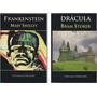Lote X 2 - Drácula + Frankenstein - Nuevos - Vampiros