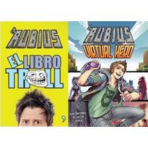 Rubius Virtual Hero + Libro Troll - 2 Libros - Planeta
