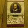 Complete Sonnets. W. Shakespeare