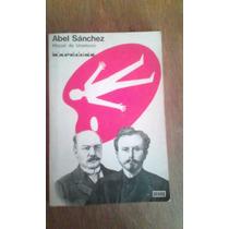 1891 Libro Abel Sanchez Miguel De Unamuno Kapeluz Cuento
