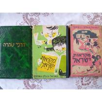 Lote De Libros En Yiddish Y Hebreo Impecable Estado Oferta