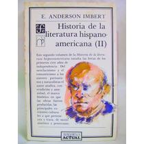 Historia De La Literatura Hispanoamericana 2 Por A. Imbert