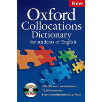 Oxford Collocations Dictionary With Cd Room