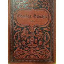 Libreriaweb Aleman Goethe Gedichte De 1816 Erfter Band
