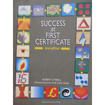 Libreriaweb Success At First Certificate New Edition Oxford