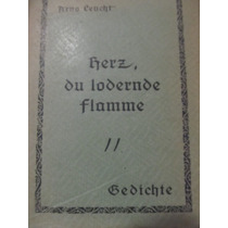 Libreriaweb Aleman Herz Du Lodernde Flamme