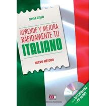 Aprende Y Mejora Rapidamente Tu Italiano + Cd - Silvia Risso
