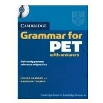 Cambridge Grammar For Pet With Answers + Audio Cd