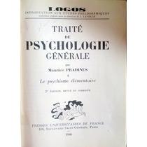 Traité De Psychologie Générale (french) Hardcover