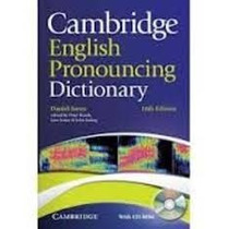 Cambridge English Pronouncing Dictionary - 18th Edition
