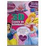 Disney Princesa. 3d Centro De Actividades Corazones Y Dia...