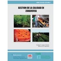 López Camelo: Gestión De Calidad En Zanahoria. Inta Balcarce