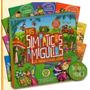Mis Simpaticos Amiguitos - Animalitos Del Jardin- 8 Vol.+cd