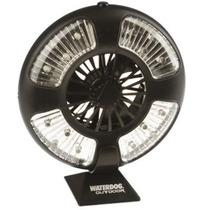 Ventilador Luz 16 Led Waterdog Carpa Gazebo Casa Rodante