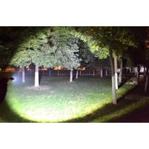 Linterna Tactica 5000 Lumens Cree Led Xml-t6 Zoom Recargable