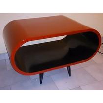 Mesa Ratona Diseño Curvo Moderno Retro Vintage Rebarri