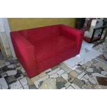 Sillon Sofa 2 Cuerpos Tapizado En Ecocuero Talampaya 140x080