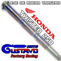 Eje Rueda Trasero Honda Twister 250 Original Motogustavo
