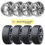 Kit 4 Llantas Citroen C4 R17 + 4 Neumaticos Dunlop 225/45 17