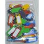 Llaveros Plasticos X 50 Unidades Tarjeteros Identificadores