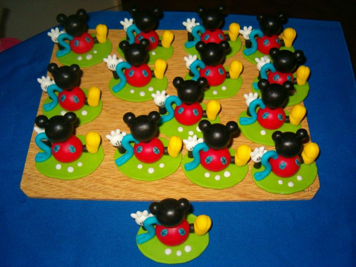 Lote 10 Souvenir De La Casa De Mickey Mouse - $ 400,00 en MercadoLibre