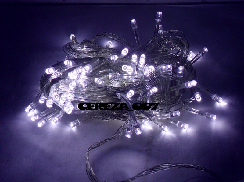 Image gallery luces led blancas - Luces para arboles ...