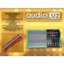 Navigator 24 Consola Dmx Para Dimmers American Pro