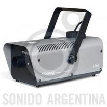 Maquina De Humo Cloudy L54 800w Alcance 5 Mts Control Remoto