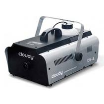 Maquina De Humo Cloudy Ds4 1200w Alcance 7mts Control Remoto