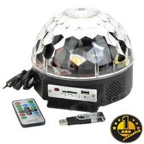Luz + Remoto Bola Magic Crystal Magic Ball Light Fiesta Dj