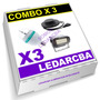Combo X3 - Lampara Bola Led Giratoria + Flash Led + Ovni Led
