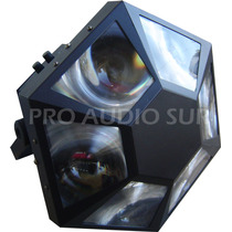 Efecto De Led Pls Solar 6 Lentes Rgb Iso Dmx Sound Ver Video