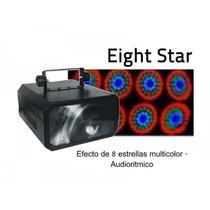 Pls Eight Star De Led Efecto De Luces Audioritmico Dmx512