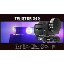 Cabezal Movil Beam Twister 360-tecshow (8x10watts) Fervanero