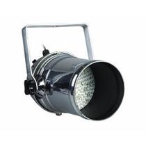 Par Led 64 L Dmx Gbr Spot Tacho De Led Aluminio Pulido Largo