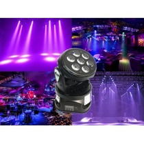 Cabezal Led Moving Power Gbr 7 Leds 8 Watts Audiomasmusica