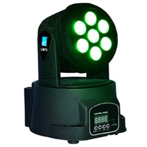 Cabezal Movil 7 Led De 8w Rgbw Dmx Big Dipper Lm70 - Oferta