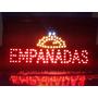 Cartele Led Empanadas -abierto -oferta-bienvenido Y 40 Más