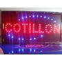 Cartel Led Cotillon - Abierto - O La Que Quieras