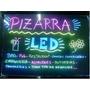 Pizarras Led Luminosas - Cartel Led Rgb 40 X 60 Cm.