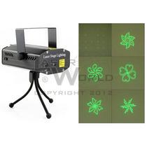 Mini Láser Audiorítmico Verde Y Rojo 6 Figuras (6c) Luces Dj