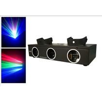 Laser Pls-12 Dmx Azul-verde-rojo - Video !!! Fervanero