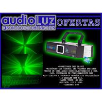 Laser Luces Efectos Argento Sunstar Verde Potencia 120mw