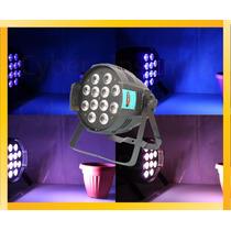 Par Led Negro Proton 12x12 Watts Tacho Rgbwa +luz Negra 6en1