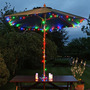 Luces De Navidad A Energía Solar De 20 Metros - 200 Leds